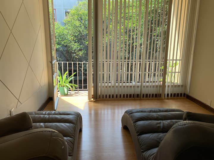 Cozy apartment close to Reforma and Chapultepec