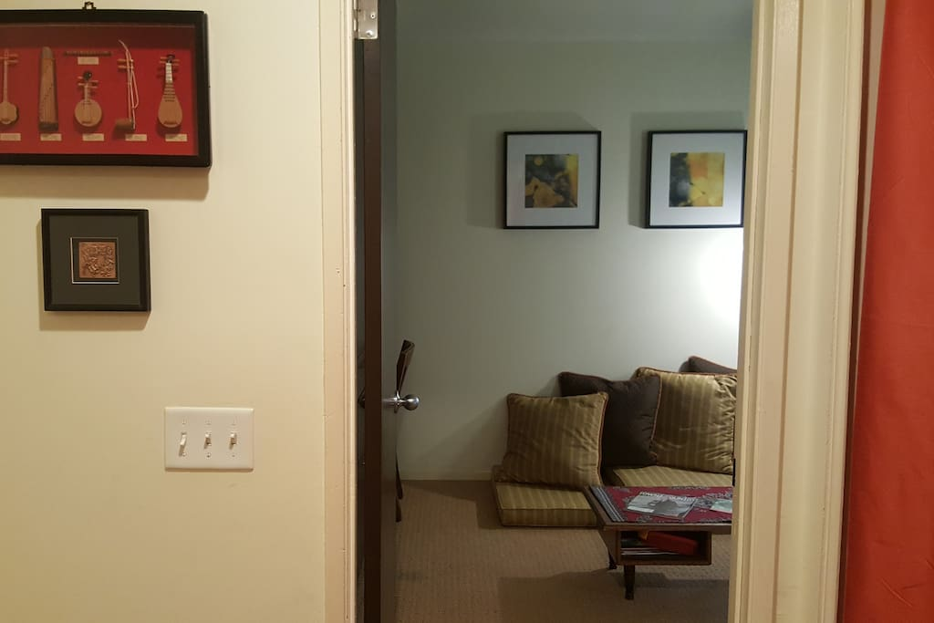 Entrance to Suite (The room is located upstairs)