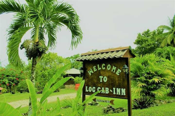 Private Log Cab-Inn , AC, Pool, Rest & Bar, staff2
