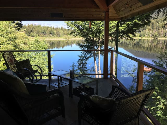 Lakeside Retreat near Sun Peaks