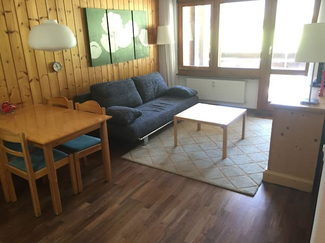2 Room, South Balcony,  Pool, in Täsch (Zermatt) - Täsch - Appartement