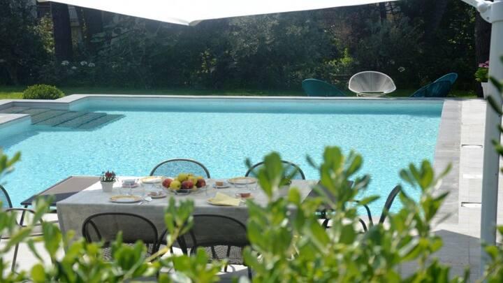 La Casa dell'Etna_appartamento con piscina
