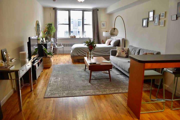 Furnished Studio right btwn West Village/Chelsea