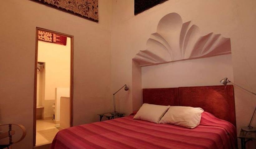 La Concha room at Alma del Sol B&B