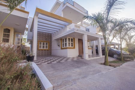 2BHK Villa with shared pool for get togethers