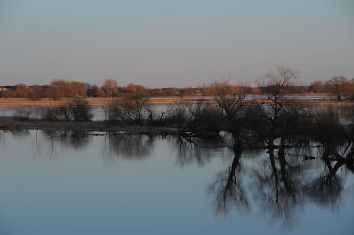 Ferienwohnung in Flussnähe