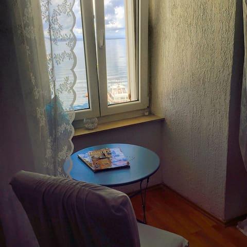 Rustic charm with crazy Sea View! - Senj - Apartamento