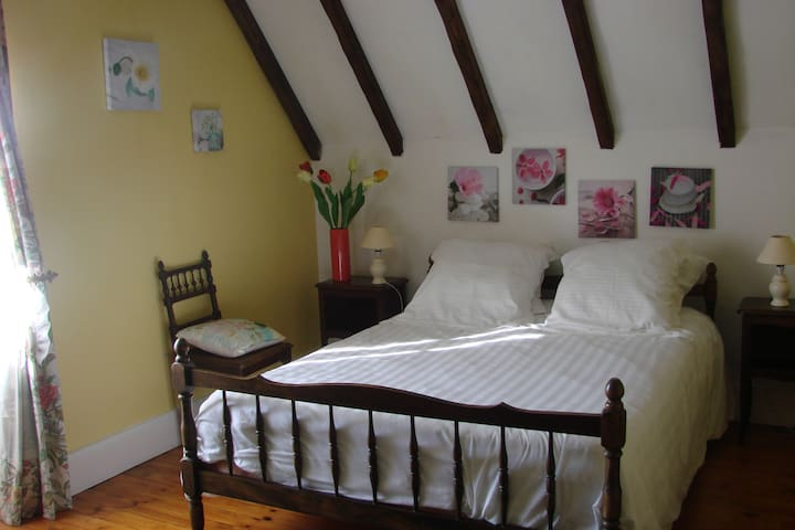 Les Loubejac chambre Fleur - Sauveterre-la-Lémance - House