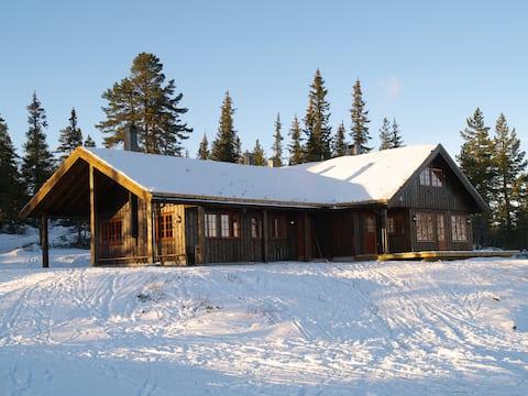 Tosseviksetra, Lodge mit hohem Standard