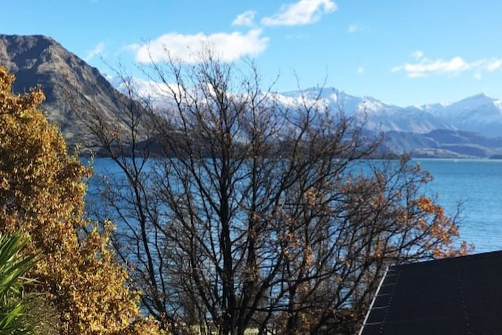 Lakeside and Mountain Chalet suite, Private Entry