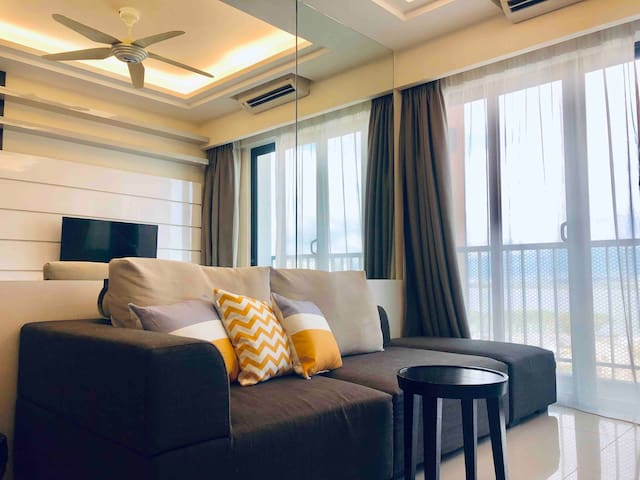My HomeSweetHome |Seaview| 沙巴海景房|加雅街|水上清镇市|2 Beds