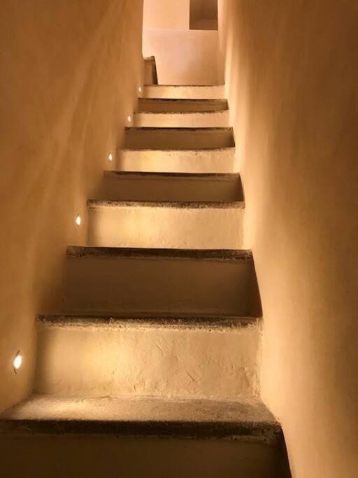 Scala entrata/Entrance Stairs