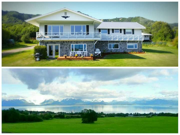 Private 28 Acres - 180° Bay View - ENTIRE HOUSE!