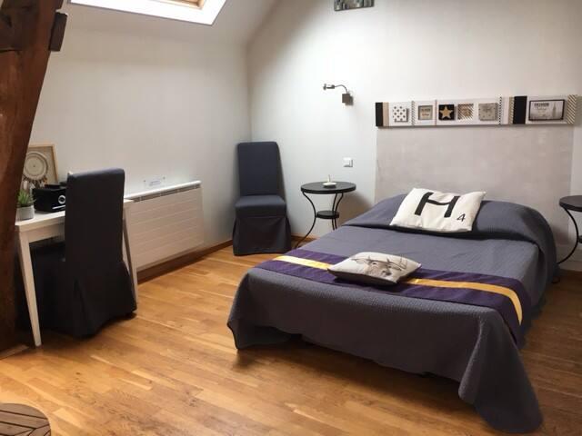Cosy chambre près du Crotoy (possibilité jacuzzi)