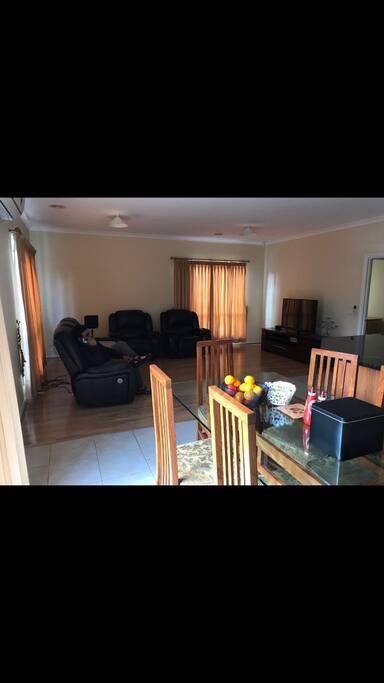 Dinning area plus kitchen