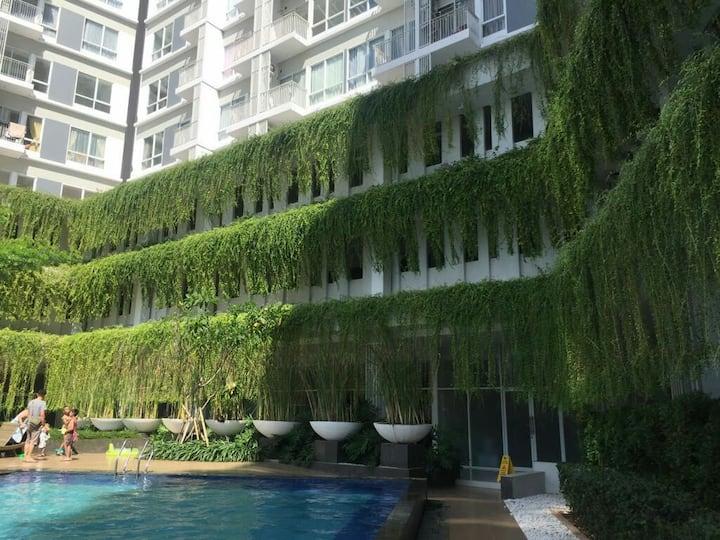 "Altiz Apartment at Bintaro""pool-city view&cozy"""