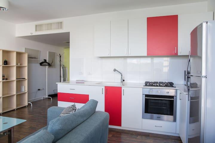Spacious apartment near Ihilov