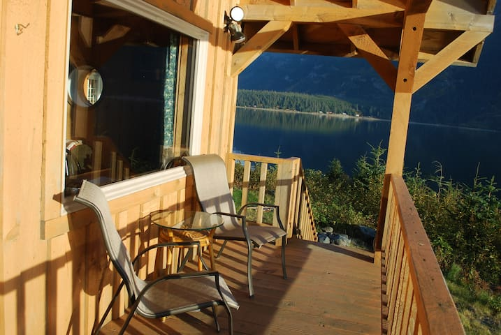 The Gathering Place Cabin #1, water view, kitchen