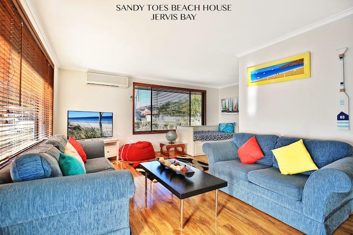 Sandy Toes Jervis Bay -Award Winner- 200m to Beach