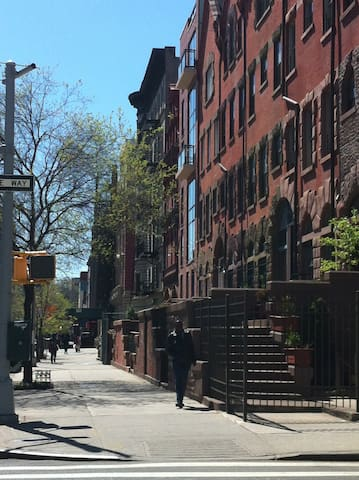 Large Serene Garden Apartment Historic Harlem