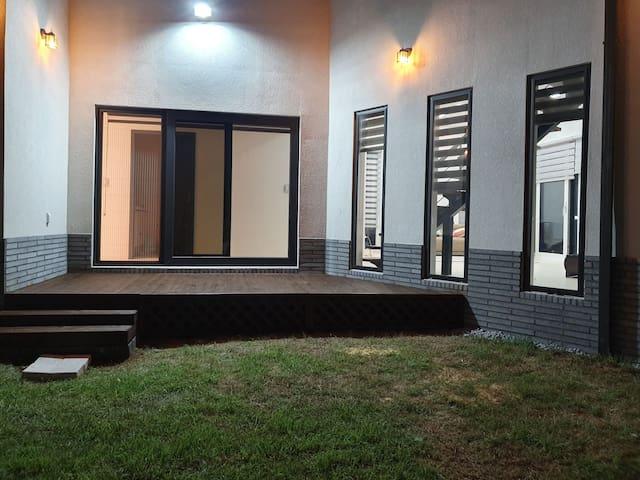 양평 프라이빗  힐링하우스 ( 38평 전원주택 전체사용 침실3개 화장실3개)