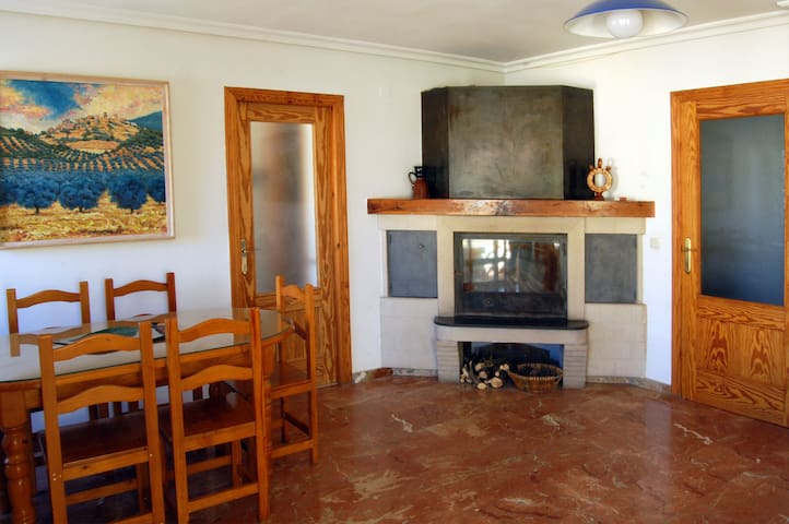 Bright apartment with fireplace in Natural Park - Cortijos Nuevos