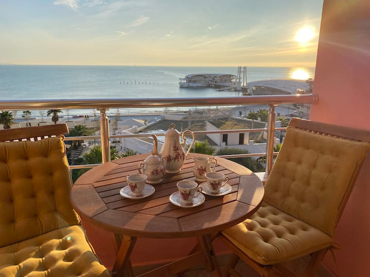 Vollga Apartment | THE BEST SEA VIEW OF THE CITY