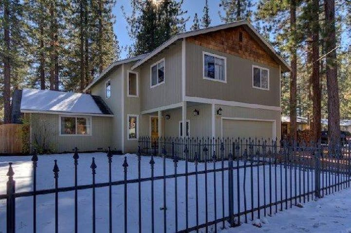 Luxury Home on Bike Trail With Bicycles - South Lake Tahoe - House