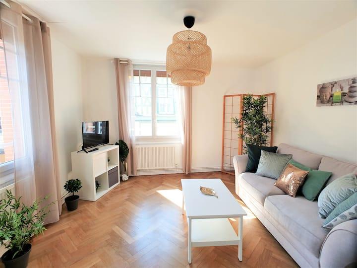 Superbe appartement  hypercentre vieux joigny p5