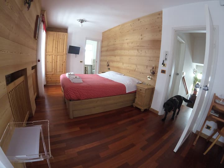 Superior Room Tofane @ B&B Cristallo