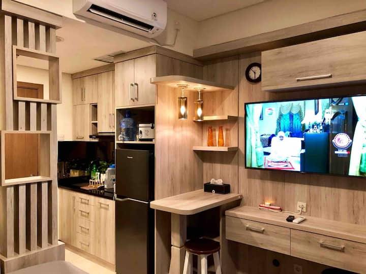 Nice&Homelike Studio Apartment Puri Orchard