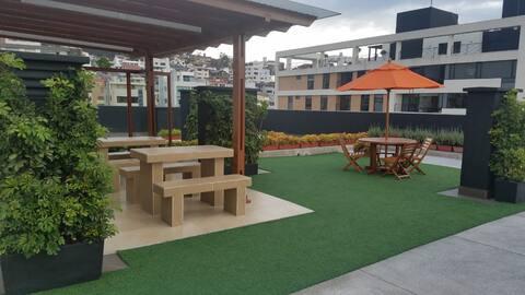 Mini SUITE Parque LA CAROLINA, en edificio de Lujo
