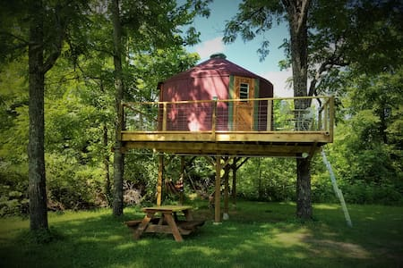Abi's Arboreal Abode & Hammock Haven (AAAHH...) - Baumhaus
