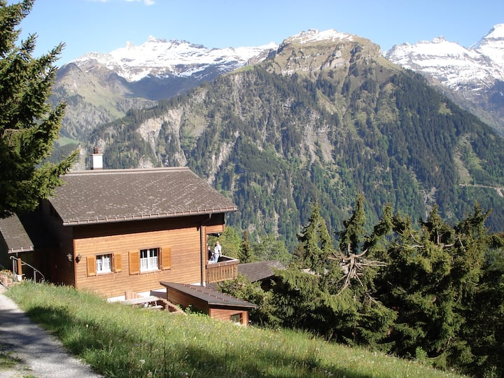 Lovely chalet with amazing view in Braunwald (GL)