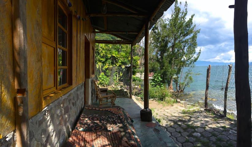 "Rustic Lakeside Cabana @ ""Dos Casitas"" - San Marcos La Laguna - House"