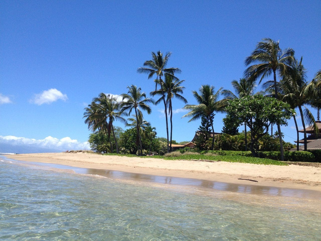 2 min walk to beautiful baby beach , 5 min walk to Outlet Shops and Front st Lahaina .