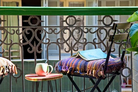 Le petit balcon, in The 3 Rooms Boutique hotel