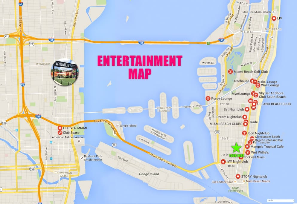 Some of our Local Entertainment Locations