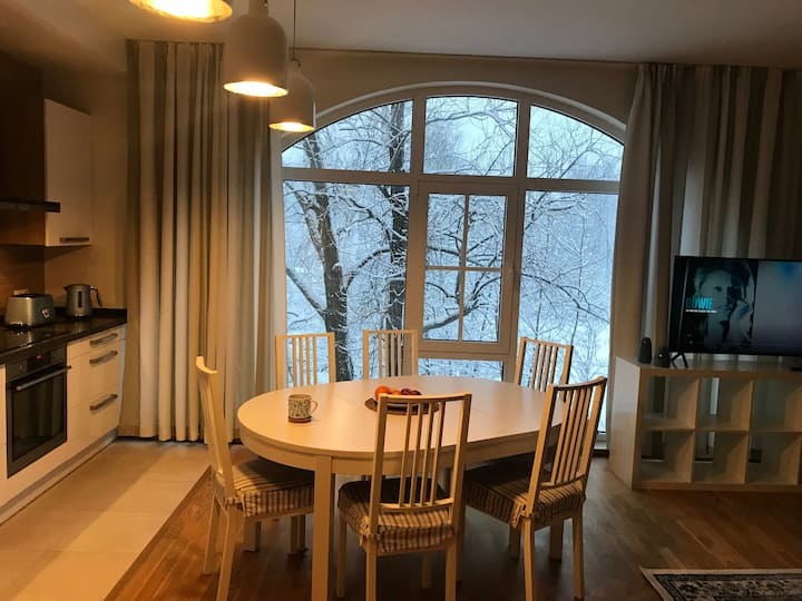 Spacious flat in Agenskalns. Ideal for a family!