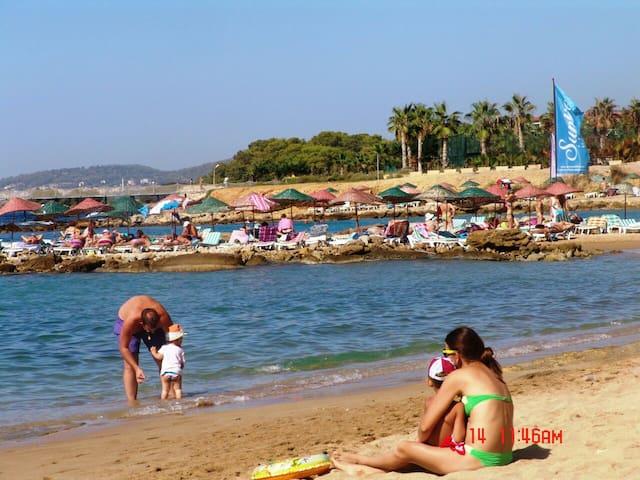 Апартаменты на берегу моря 2+1 - Avsallar Belediyesi - Byt