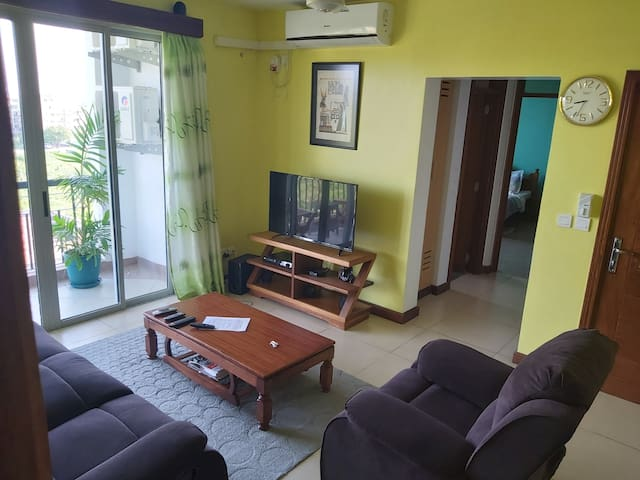 Serena abode; Tastefully styled 2-bed apartment