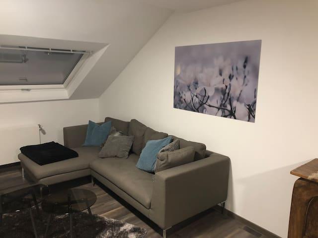 First Class Business Appartement mit Fernsicht