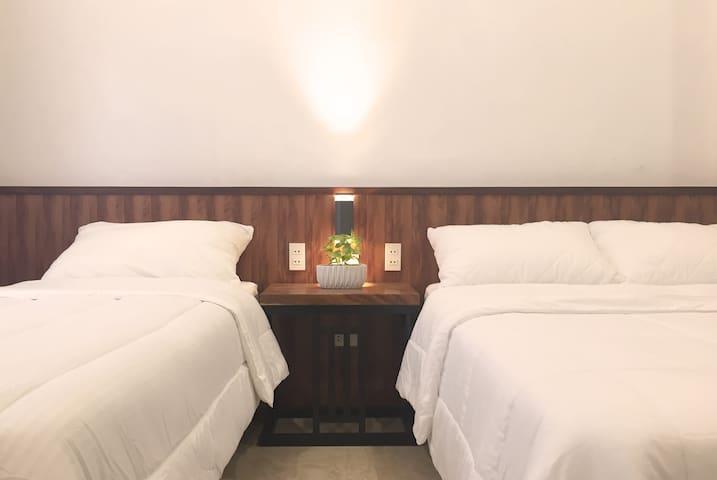 Single Bed (36 in. width) & Double Bed (54 in. width)