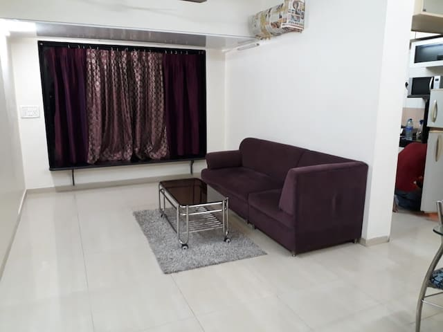 Higher Floor full 1 bedroom Apartment in Powai