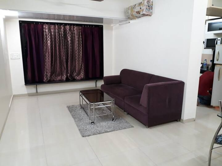 Higher Floor full 1 bedroom Apartment in Powai