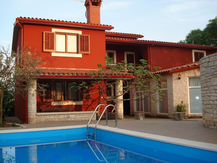 Apartment Mimi - with swimming pool A1 Jasen(2+2) Krnica, Istria