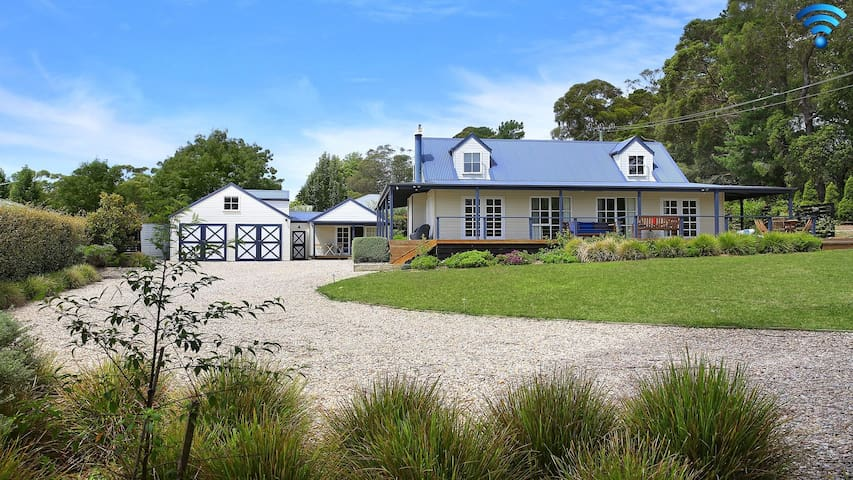 Duncraig House – open fireplace, spa, pet friendly