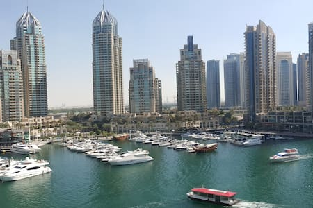 Luxury waterfront apartment with best Marina views - 杜拜