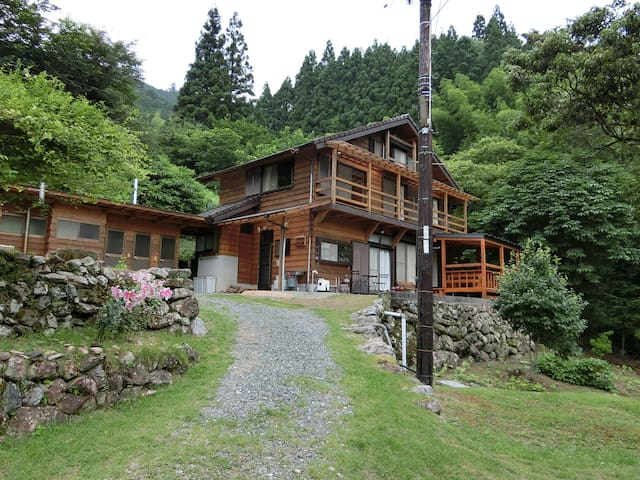 Wooden house in the mountain - 吾川郡いの町上八川丙 - Casa