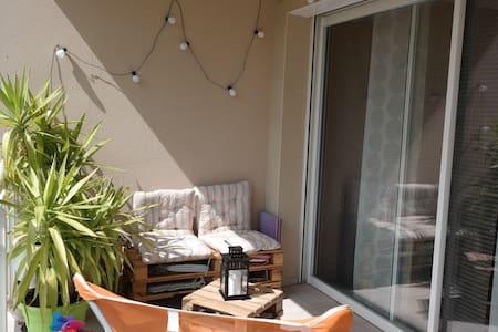 Appart T2 neuf, terrasse sud. - Millau - Wohnung